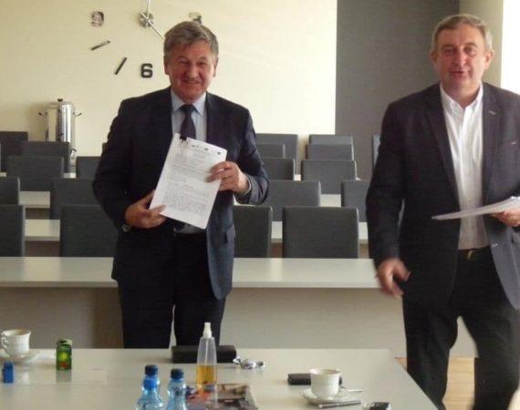 Historyczna chwila: podpisanie umowy na budowę oczyszczalni